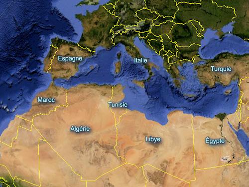 Tunisie   Geographie